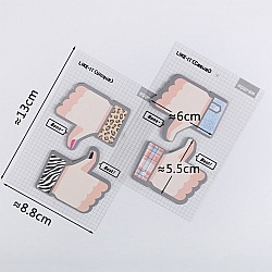 Sticky Notes or Memo Pads - Thumbs Up and Down