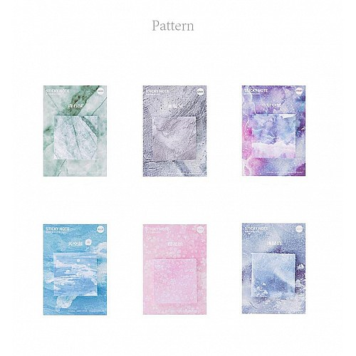 Sticky Notes or Memo Pads - Galaxy Squares