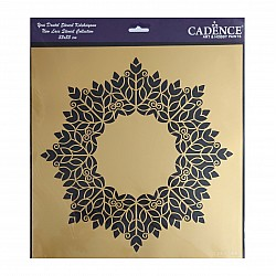 Cadence 35 by 35 cm stencil - Lace (YDS-021)