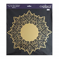 Cadence 35 by 35 cm stencil - Lace (YDS-001)