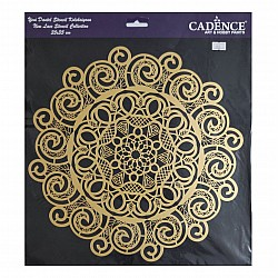 Cadence 35 by 35 cm stencil - Lace (YDS-002)