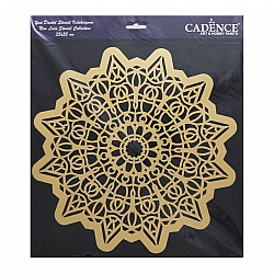Cadence 35 by 35 cm stencil - Lace (YDS-004)