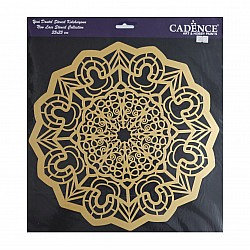 Cadence 35 by 35 cm stencil - Lace (YDS-009)