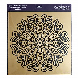 Cadence 35 by 35 cm stencil - Lace (YDS-011)