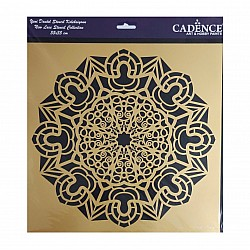 Cadence 35 by 35 cm stencil - Lace (YDS-014)