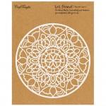CrafTangles 6x6 Stencil - Round Lace