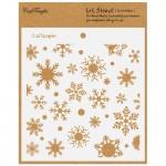 CrafTangles 6x6 Stencil - Snowflakes
