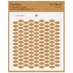 CrafTangles 6x6 Stencil - Fish Net