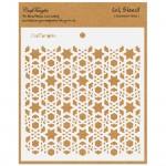 CrafTangles 6x6 Stencil - Geometric Bliss
