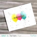 CrafTangles 6x6 Stencil - Balloons