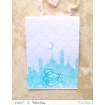 CrafTangles Photopolymer Stamps - Eid Mubarak