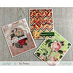 CrafTangles Elements Pack  - Vintage Rosette 2 (3 sheets of A4)