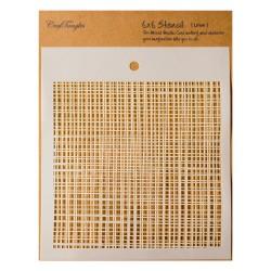 "CrafTangles 6""x6"" Stencil - Linen"