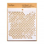 CrafTangles 6x6 Stencil - Dots