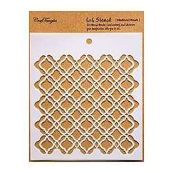 "CrafTangles 6""x6"" Stencil - Medieval Mosaic"