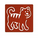 Washable Templates or Stencils for Kids (Set of 6 pcs) - Animals