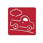 Washable Templates or Stencils for Kids (Set of 6 pcs) - Vehicles