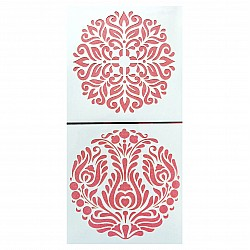 6by6 inch stencil (Set of 2) - SP6203