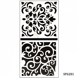 6by6 inch stencil (Set of 2) - SP6201