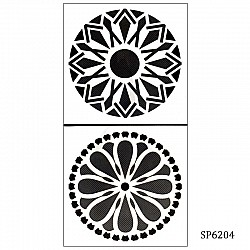 6by6 inch stencil (Set of 2) - SP6204