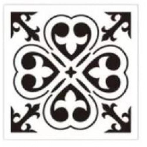 Mandala 8by8 inch stencils (Design 16)