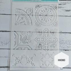 Stencil - Fusion Mandalas 2 (A4 size)