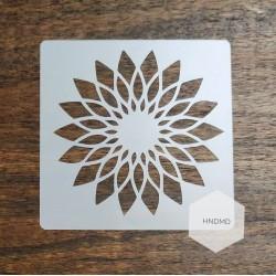 Mandala 5by5 inch stencils (Design 10)