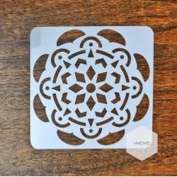 Mandala 5by5 inch stencils (Design 50)