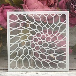 5by5 inch stencils - Hexagonal Pattern