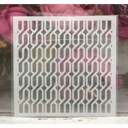 5by5 inch stencils - Geometric Pattern 2