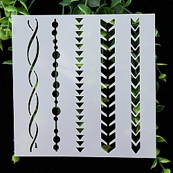 Stencil - Various Borders (5 by 5 inch)