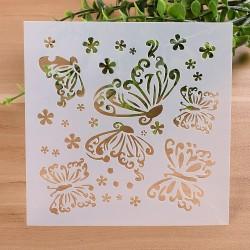 Stencil - Butterflies (5 by 5 inch)
