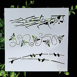 Stencil - Nature Borders (5 by 5 inch)