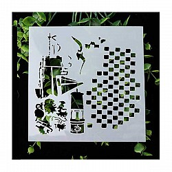 Stencil - Nautical (5 by 5 inch)