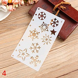 Planner Stencil - Snowflakes (4 by 7 inch)