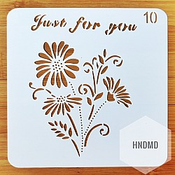 Stencil - Just for You (5 by 5 inch)