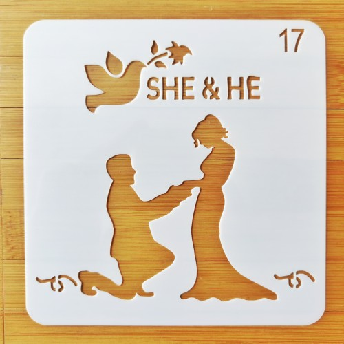 Stencil - Proposal (5 by 5 inch)