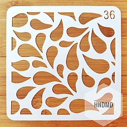 Stencil - Paisley (5 by 5 inch) (CHCS-99-36)