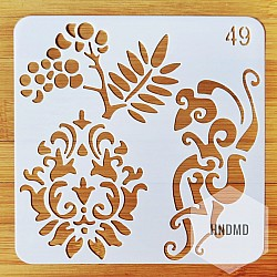 Stencil - Floral Elements (5 by 5 inch)