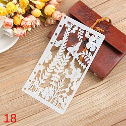 Planner Stencil - Leaves (4 by 7 inch)