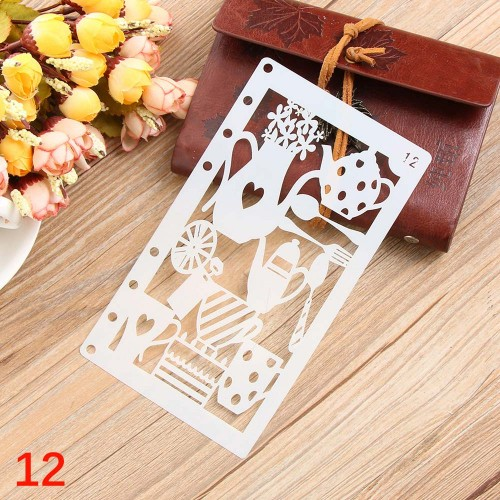 Planner Stencil - Kitchen Tools (4 by 7 inch)