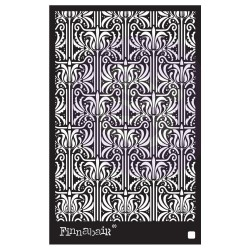 "Prima Marketing Finnabair Stencil 6""X9"" - Iris Tapestry"