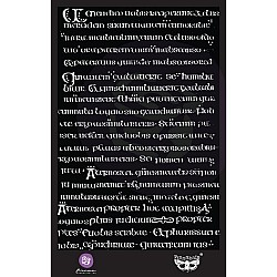"Prima Marketing Finnabair Stencil 6""X9"" - Manuscript"