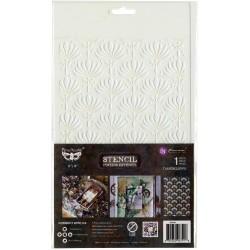 """Prima Marketing Finnabair Stencil 7""""X9"""" - Dandelion"""