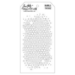Tim Holtz Layering Stencil - Bubble