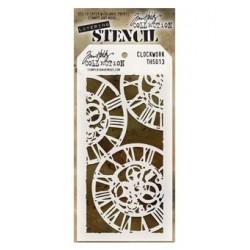 Tim Holtz Layering Stencil - Clockwork