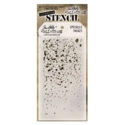 Tim Holtz Layering Stencil - Speckles