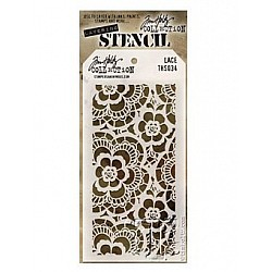Tim Holtz Layering Stencil - Lace