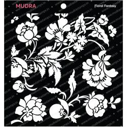 Mudra Stencils - Floral Fantasy
