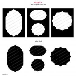 Mudra Stencils - Label shape and Mask